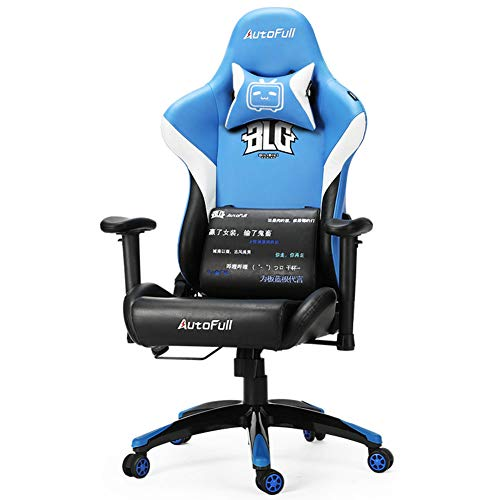 XUE E-Sports Chair, Base Training Chair 360 Grad Schwenk-Adjustable Seat Height Tilt Funktion Lever Operator Chairs High Back Large Seat Durable und Stable - Wicker Base
