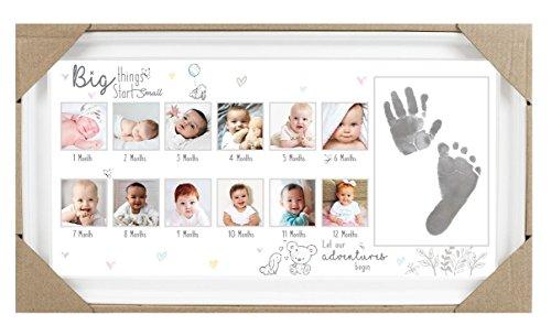 Il mio primo anno Photo Frame Baby Gift Keepsake Memories (Inviato da UK)