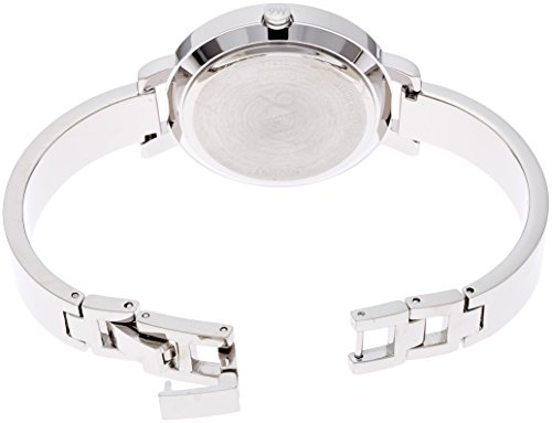 Nine West Women's Quartz Watch with Silver Dial Analogue Display and Silver Alloy Bracelet NW/1631SVSB