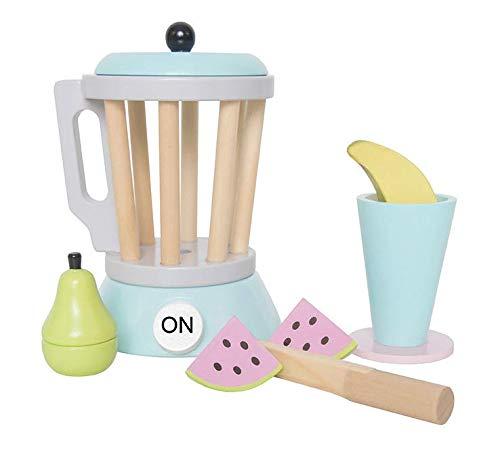 JaBaDaBaDo Smoothie Maker mit Zubehör: Messer, Coctailbecher, Melone, Birne und Banane - für viel Spaß in der Kinderküche.