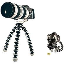 Theoutlettablet® Trípode pod para camaras de fotos, camaras acción deportivas (Gopro, SJCAM etc), smartphone, videocámaras, camaras réflex y Compactas