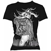 Lady Gaga - Born This Way (Pic & SIG) - Offizieles Damen T-Shirt