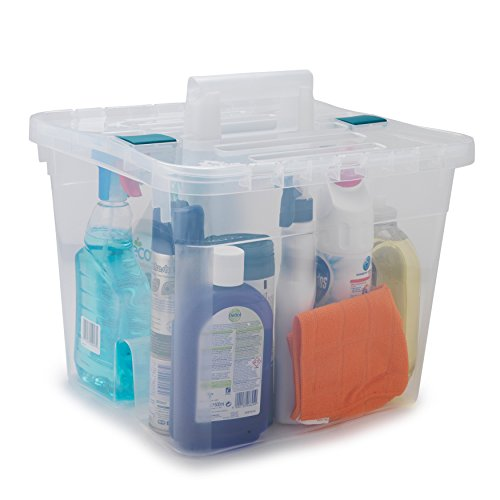 Beldray LA036759 Caddy with Lid, Large, Clear