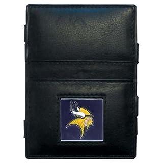 NFL Leder Jakobsleiter Wallet, Damen, Minnesota Vikings