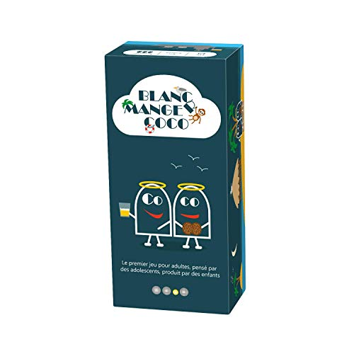 Blanc-manger Coco ndash; The 1st Game for Adults, Imagined by Teens, Produced by Children - 600 cards [Cannot Guarantee this will be in English]
