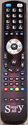 SimplyAll Compatible Remote Control for the Loewe Opta CONTUR1470