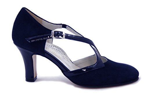 Femme Scuro Blu Escarpins Osvaldo Pericoli 7EwqXw8