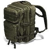 Black Snake US Assault Pack II Damen und Herren Rucksack Outdoor Backpack Oliv