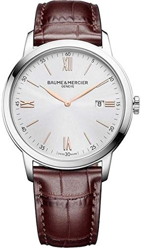 Baume&Mercier M0A10415 Montre à Bracelet pour Homme