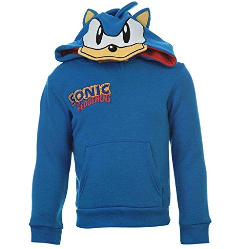 Image of Childrens Sonic The Hedgehog Hoody Long Sleeve Boys Girls (UK 13 Years)