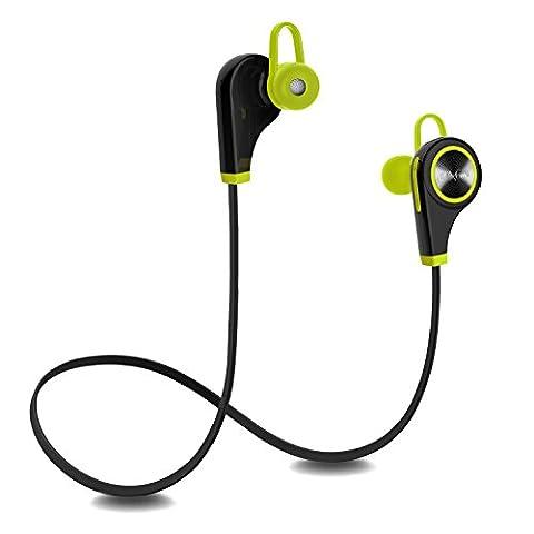 Plustore Bluetooth In-Ear-Kopfhörer Sport Headset mit Mikrofon