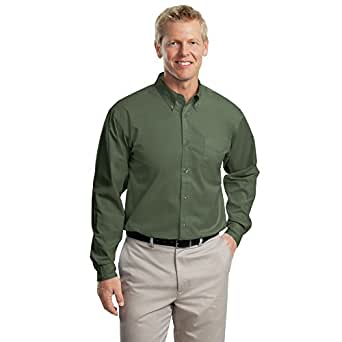 Port Authority Long Sleeve Easy Care Shirt, Clover Green, S