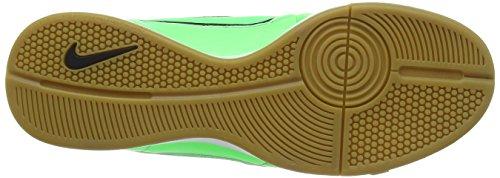 Nike Herren Tiempo Genio Leather Ic Fußballschuhe Green (Green Strike/Green Strike-Black-Black Lightning)