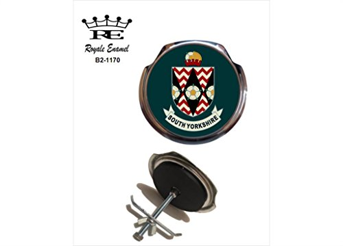 Preisvergleich Produktbild Royale Emaille Royale Car Grill Badge – South Yorkshire County England B2. 1170