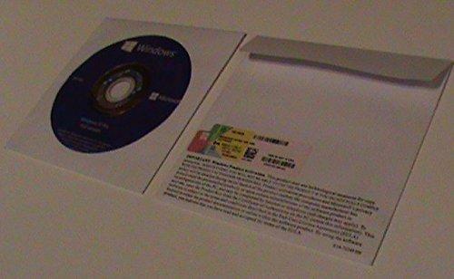 Microsoft Windows 10 Professionnel 64 Bit x64 DVD holographique avec autocollant Certificat d'Authenticité,langue française