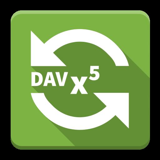 DAVx⁵ - CalDAV/CardDAV Sync