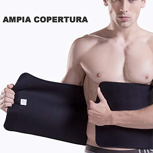 Zoom IMG-1 kindax fascia dimagrante cintura addominale