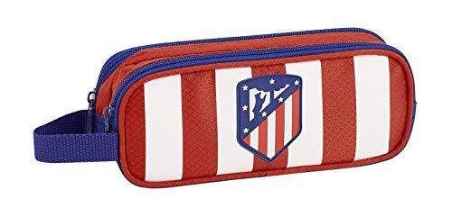 Atlético Madrid Estuche portatodo Doble 2 Cremalleras