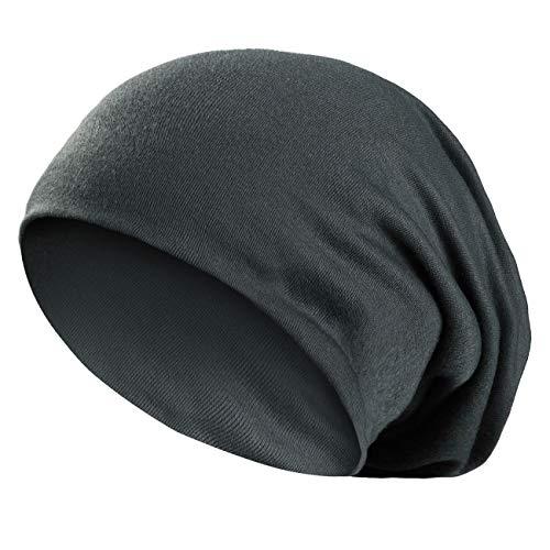 Wirezoll Winter Leicht und Weich Slouch Beanie Mütze für Damen, Herren, Jungen und Mädchen, Dunkel Grün, ()