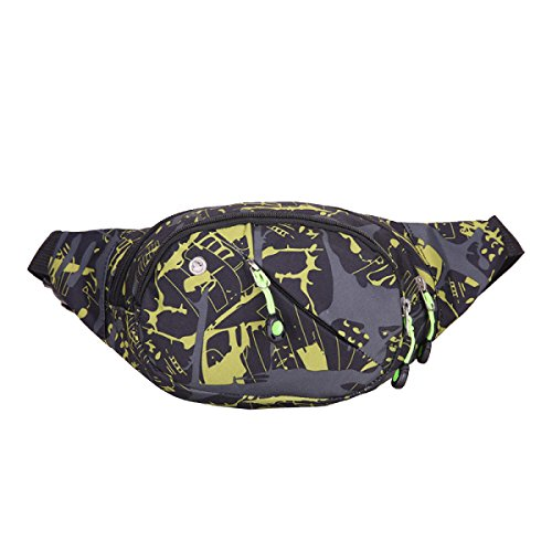Outdoor Camuffamento Casuale Correndo Acqua Bulk Bag Poliestere Fanny Pack (stili Multipli),F C