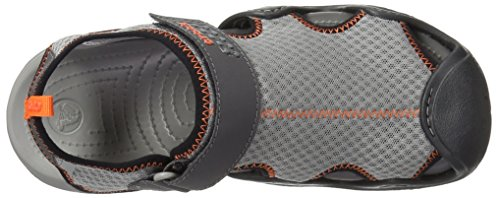 Crocs Swiftwater Sandal M, Spartiates Homme Smoke/Graphite