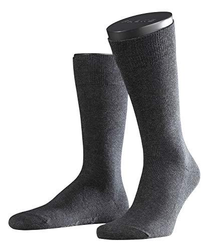 FALKE Herren Family Socken Strümpfe 14645 6er Pack, Sockengröße:43-46;Artikel:14645-3080 anthrazit mel.