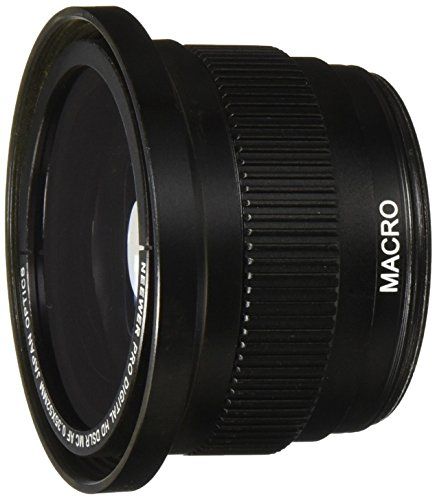Neewer 52mm 0.35x Super Fisheye Wide Angle Lens With Macro Close Up Conversion Lens For Nikon D5300 D5200 D5100 D3300 D3200 D3100 D3000 Dslr Cameras + Microfiber Cleaning Cloth