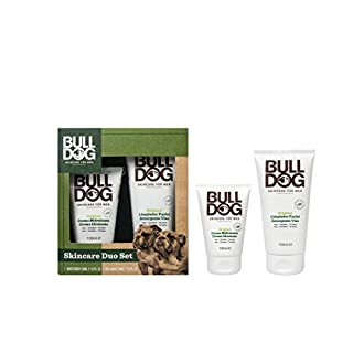 Bulldog Skincare Duo Set - Moisturiser 100ml, Face Wash 150ml