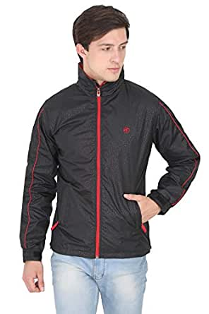 Forest Club | Water Resistant | Light Weight | Track Jackets | Sports Jacket for Men with Hood | Printed Colors | (Slim FIT)
