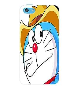 ColourCraft Cartoons Design Back Case Cover for APPLE IPHONE 5C
