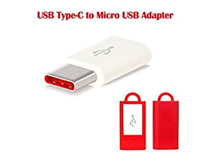 Lakshika USB Type-C To Micro USB Adapter for OnePlus 5 / OnePlus5 / OnePlusFive/ One Plus 5 / One Plus5 / OnePlus Five / 1+5 / One + Five / OnePlus 5 Micro USB to USB Type C (USB 3.1) Adapter Original Adapter | USB Data Charging Adapter | Type-C to Micro USB Charger Adapter USB 3.1 | Portable Charging & Hi-speed USB 3.1 Type C Male to Micro USB Female Converter Connector Adapter | USB Type-C To Micro USB Adapter| High Speed Charging Adapter Convertor Connector (Red)