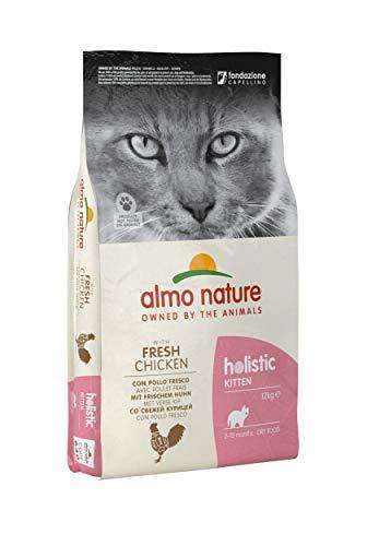 Almo Nature - Holistic - Croquettes pour chat - Poulet/riz - 12 kg
