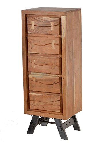 SIT Toller Materialmix aus Akazienholz und dem robusten Metallgestell
