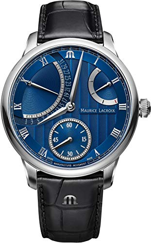 Maurice Lacroix Masterpiece Calendar Retrograde MP6568-SS001-430-1 Automatic Mens Watch