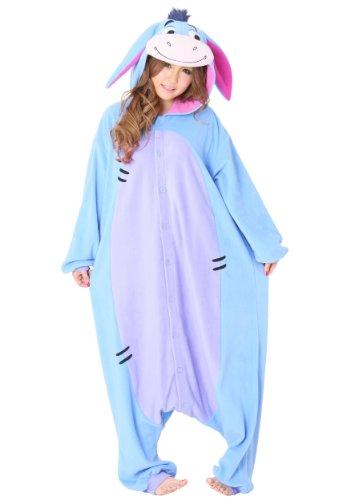 Kigurumi Iaah Eeyore Winnie Puh Kostüm (Erwachsene Eeyore Kostüm)