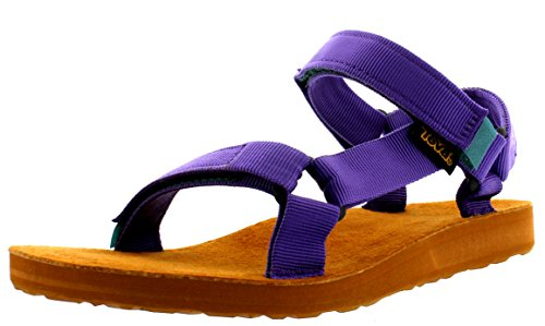 Teva Original Univ. Backpack W's, Sandali sportivi donna, Viola (Violett (643 deep purple)), 38
