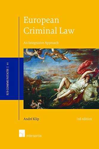 European Criminal Law (Ius Communitatis)