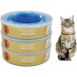 LILNAP - Recharges pour Litter Locker II (3 pièces)