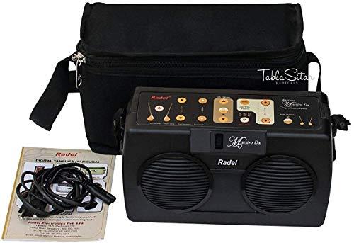 Electronic Tanpura - RADEL Saarang Maestro Electronic Tanpura - Tambura, Digital Tanpura Box, Sound Machine DJ, Tanpura Sampler, Manual Instruction, Bag, Power