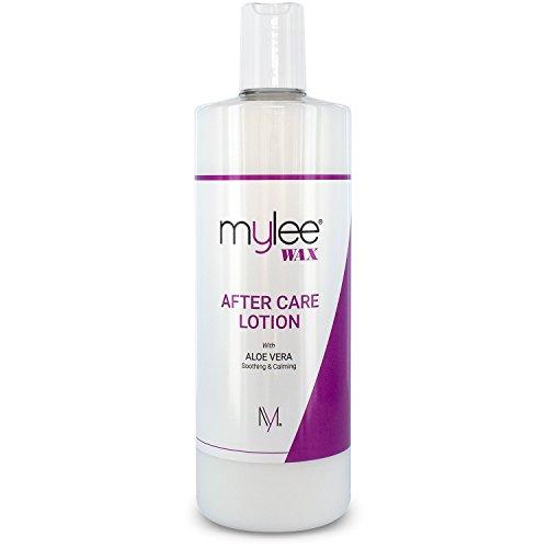 After Care Mylee 500 ml - Hydratant et adoucisseur post-épilatoire pour la peau enrichi à l'aloe