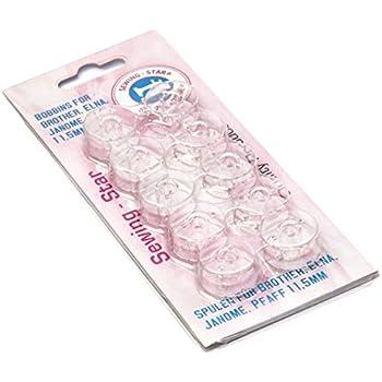 100Pcs Haushalts-N/ähmaschine-Spulen aus Kunststoff Bunte Leere Spulen Spule f/ür N/ähmaschine Zu