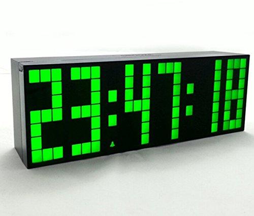 Yosoo Reloj Grande LED Alarma Tiempo Relojes Digital