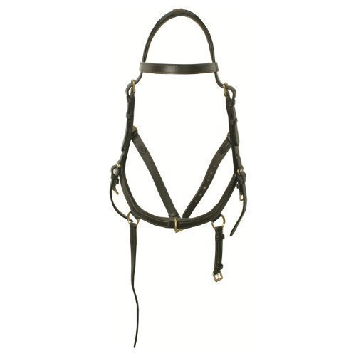 Horseware Rambo Micklem Multibridle 3 in 1 Trense Zaum Größe und Farbe wähbar (schwarz, WB XL)