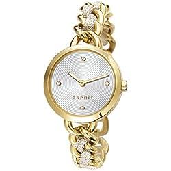Lily Women'Esprit Damen Armbanduhr Analog Edelstahl Gold ES107952002 Armband