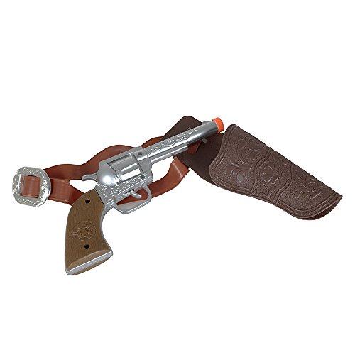 Bristol Novelty BA2137Cowboy Holster Pistole mit Gürtel, eine Größe