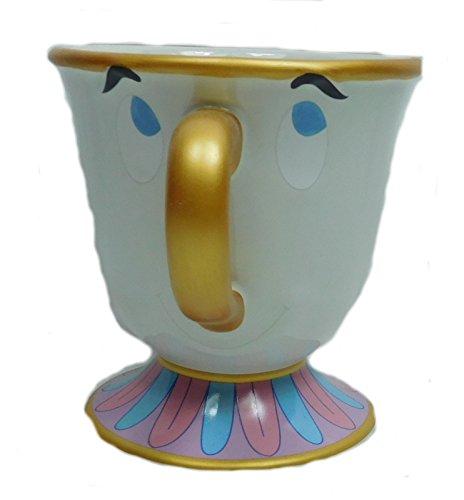 Die schöne und das Biest Tasse Mug Pott Becher Porzellan Chip Tassilo Porzellan 11cm Hoch