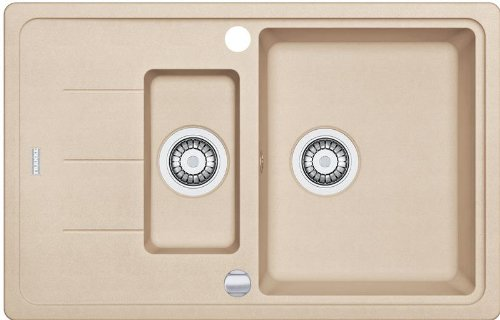 Preisvergleich Produktbild Franke Basis BFG 651-78 Beige Granit Küchenspüle Abwaschbecken Spültisch Auflage