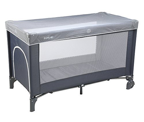 Luvlap Sunshine Baby Playpen (Gray)