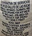 raw, organic green coffee beans fair trade Arabica Peruvian home roasting or blending 1kg by Allaways Coffee