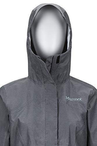 Marmot Damen 45360 Hardshell Regenjacke, Cinder, S - 5